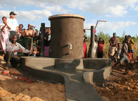 Water pumps in Malawi